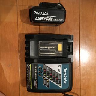 マキタ(Makita)のマキタ バッテリー充電器セット(バッテリー/充電器)