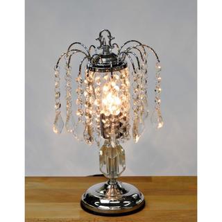 デスクにシャンデリアを♪輝くシャンデリア風ランプ