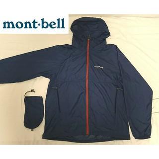 モンベル(mont bell)の【美品・未使用】モンベル  ウインドブラストパーカ - Mサイズ(マウンテンパーカー)