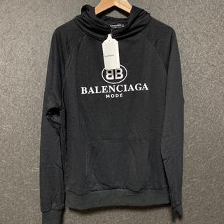 Balenciaga - BALENCIAGA パーカー XLサイズ ブラック