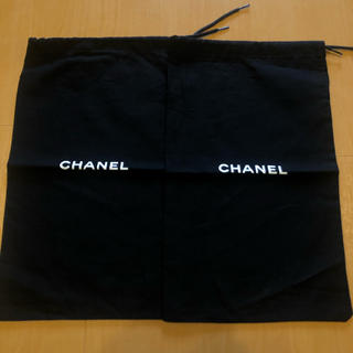 CHANEL - chanel♡シャネル♡シューズ保存袋♡巾着袋