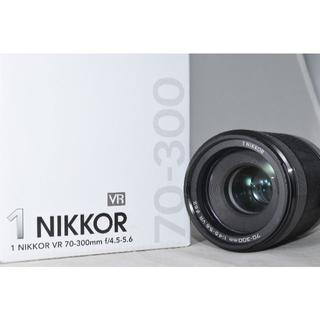 Nikon - 綺麗な展示品☆Nikon 1  VR 70-300mm f/4.5-5.6