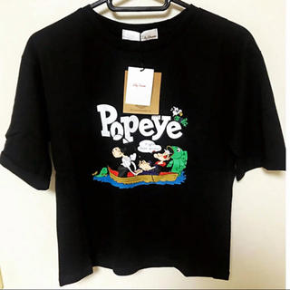 Lily Brown - Lily Brown(リリーブラウン) POPEYE Tシャツ