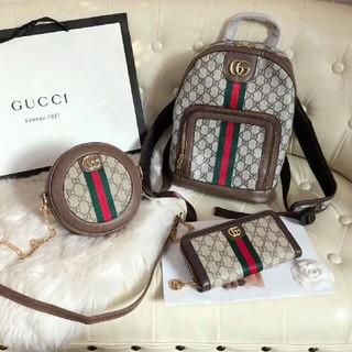 Gucci -  Gucciショルダーバッグ 、リュック、長財布