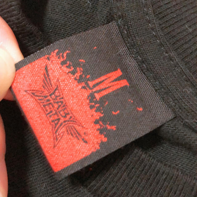 BABYMETAL(ベビーメタル)のBABYMETAL★Tシャツ エンタメ/ホビーのタレントグッズ(ミュージシャン)の商品写真