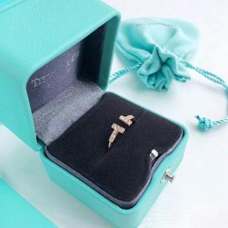 Tiffany & Co. - Tiffany  ティファニー Tワイヤー リング