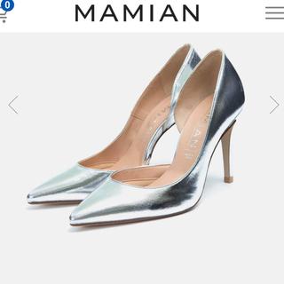 マミアン(MAMIAN)のMAMIAN ポインテッドトゥサイドカットパンプス22cm(ハイヒール/パンプス)
