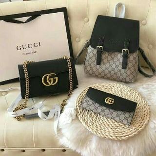 Gucci - Gucci リュック 3点セット
