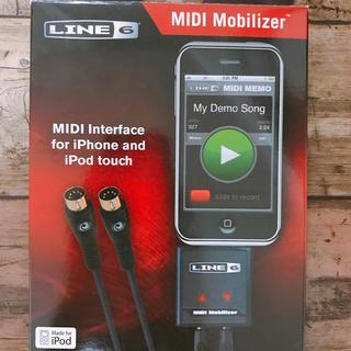 LINE6 MIDI mobilizer iOS接続インターフェース(ジャンク)(MIDIコントローラー)