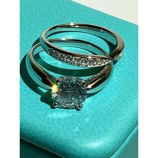 Tiffany & Co. - 人気の TIFFANY & CO. 指輪 PT950