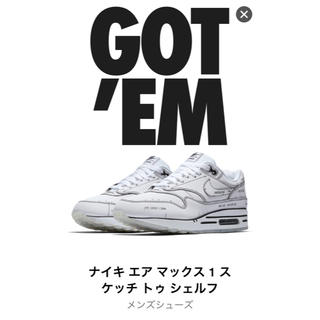 NIKE - AIR MAX 1 TINKER SCHEMATIC WHITE 26.0cm