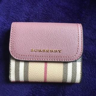 BURBERRY - Burberry バーバリー 三つ折り財布