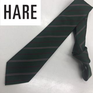 HARE - HARE ストライプネクタイ