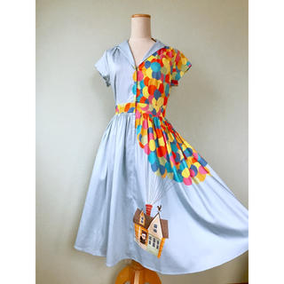 Disney - WDW カールじいさんの空飛ぶ家 シャツドレス♡海外限定♡新品♡S(日本Mサイズ