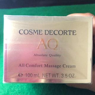 コスメデコルテ(COSME DECORTE)のCOSME DECORTE AQ オールコンフォート マッサージクリーム (フェイスクリーム)