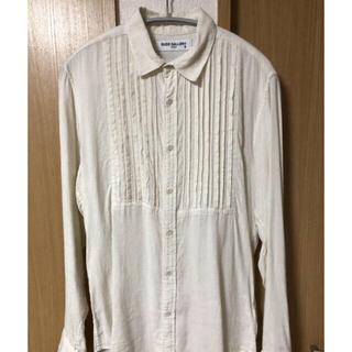 RUDE GALLERY - RUDE GALLERY リネンピンタックシャツ チバユウスケ着用(画像3.4)