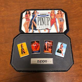 ジッポー(ZIPPO)の新品未開封☆ZIPPO SALUTES PINUPgirls  1996 レア(タバコグッズ)