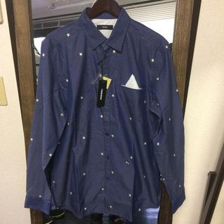 DIESEL - 【新品】DIESEL 星刺繍 長袖シャツ Lサイズ