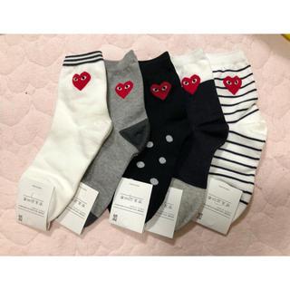 コムデギャルソン(COMME des GARCONS)の新品未使用 韓国 靴下(ソックス)
