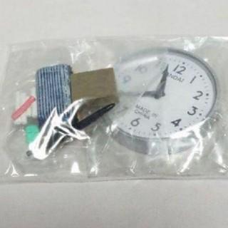 バンダイ(BANDAI)の☆いいね沢山有難う割引「昭和レトロな学校の時計と黒板消しセット」(その他)