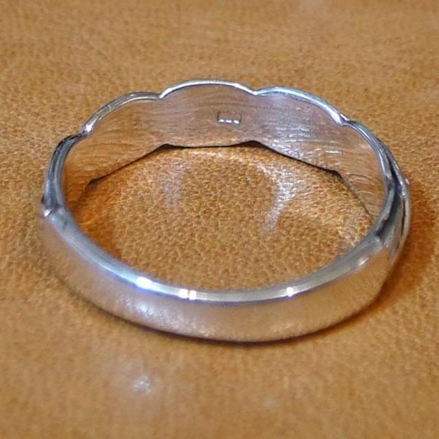 SR1713 指輪シルバー925刻リング 21号 ロープデザイン 縁結び 送料無 レディースのアクセサリー(リング(指輪))の商品写真