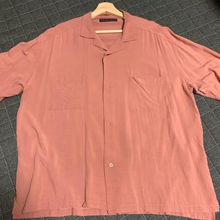 レイジブルー(RAGEBLUE)のオープンカラーシャツ サーモンピンク(シャツ)