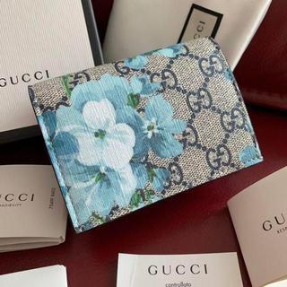 Gucci - GUCCI 花柄 ブルームス 折り財布
