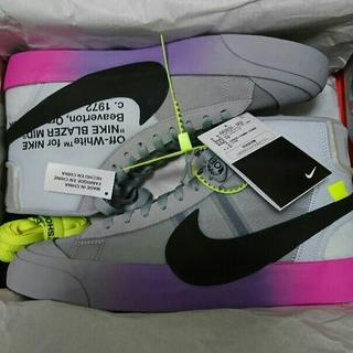 NIKE - NIKE OFF-WHITE THE 10 BLAZER MID SERENA