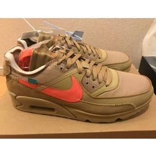 OFF-WHITE - NIKE THE TEN AIR MAX 90 off-white ベージュ