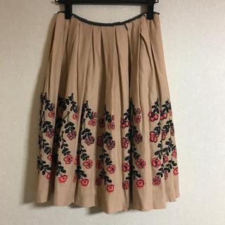 ミナペルホネン(mina perhonen)のミナペルホネン   twins スカート 36(ひざ丈スカート)