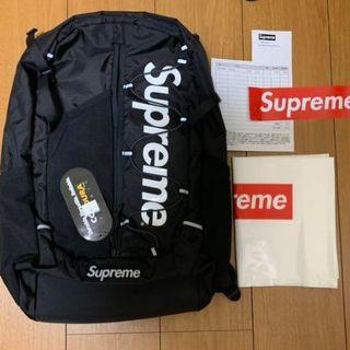 Supreme - Supreme Backpack Black 17SS