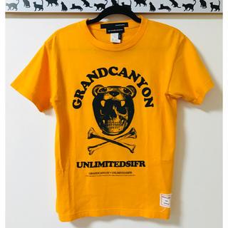 グランドキャニオン(GRAND CANYON)の【美品】GRANDCANYON×UNLIMITEDSIFR★Wネーム★TシャツS(Tシャツ/カットソー(半袖/袖なし))