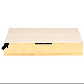ムジルシリョウヒン(MUJI (無印良品))の無印良品  ベッド下収納ボックス用ふた(その他)
