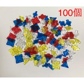 ①ラキュー(LaQ) クリスタル 100ピース