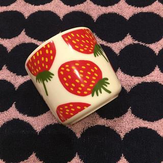 マリメッコ(marimekko)のマリメッコ  marimekko マンシッカ ラテマグ レア イチゴ いちご(食器)