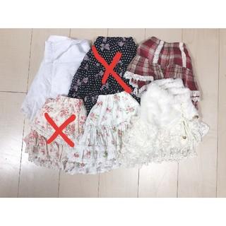リズリサ(LIZ LISA)のスカートまとめ売り(ミニスカート)