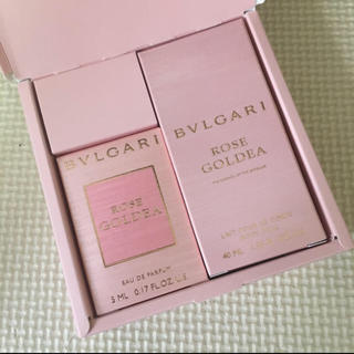 BVLGARI - 早い者勝ち ブルガリ ローズゴルデア 香水 ボディミルクセット