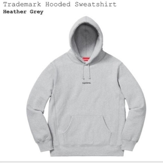 Supreme - Supreme Trademark Hooded Sweatshirt