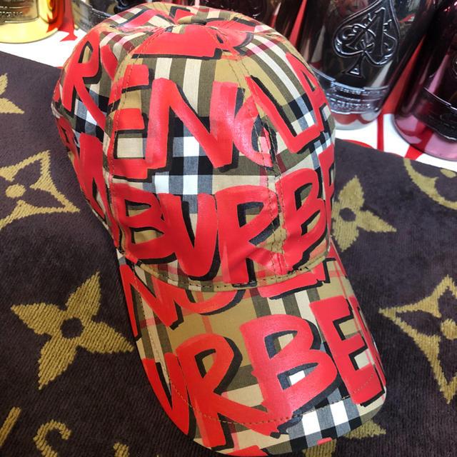 BURBERRY(バーバリー)のBURBERRY ペイントキャップ メンズの帽子(キャップ)の商品写真