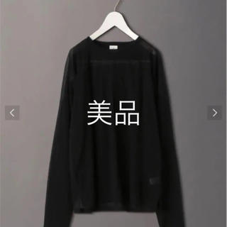 BEAUTY&YOUTH UNITED ARROWS - roku 6 sheer lock long sleeve