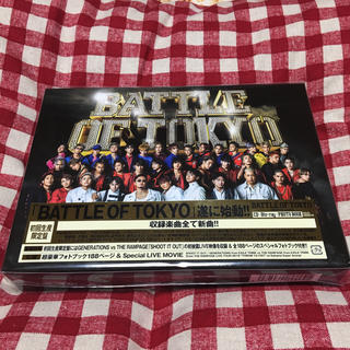 エグザイル トライブ(EXILE TRIBE)のBATTLE OF TOKYO  初回盤  Blu-ray付(ミュージック)