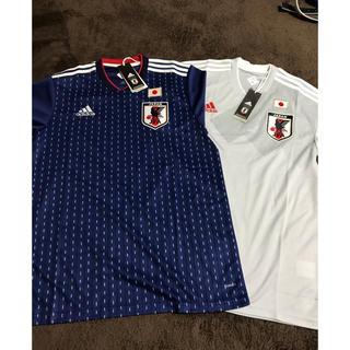 adidas - サッカー日本代表ユニフォーム 2枚セット