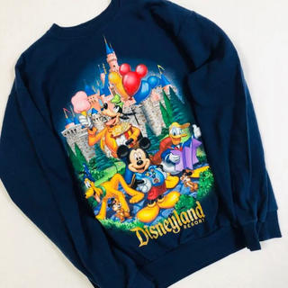 Disney - Ssize DisneyWorld×Hanes sweat