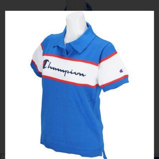 Champion - チャンピオン ポロシャツ ニット ゴルフ ブルー
