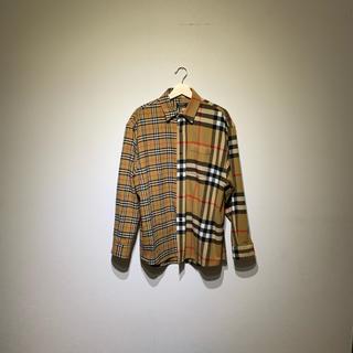 BURBERRY - BURBERRY×Gosharubchinsky シャツ