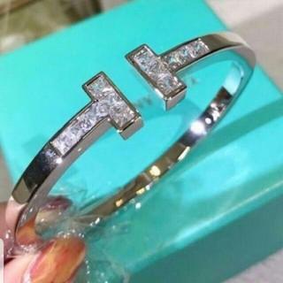 Tiffany & Co. - TIFFANY バングル K18