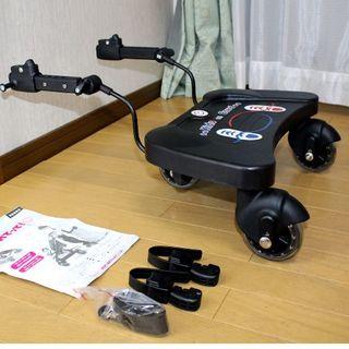 日本育児 - 美品 日本育児 バギーボード!ベビーカー用3輪◆静音◆お出かけに