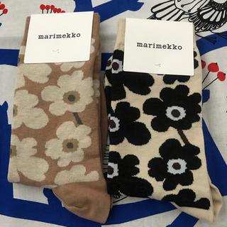 marimekko - 二足セット マリメッコ 靴下