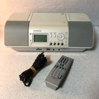 ケンウッド(KENWOOD)のケンウッド CLX-30 CDプレーヤー/パーソナルオーディオシステム(ポータブルプレーヤー)