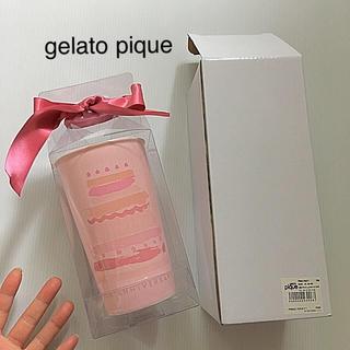 gelato pique - 定価4.104円 新品 ジェラートピケ ピンク 陶器 10thタンブラー